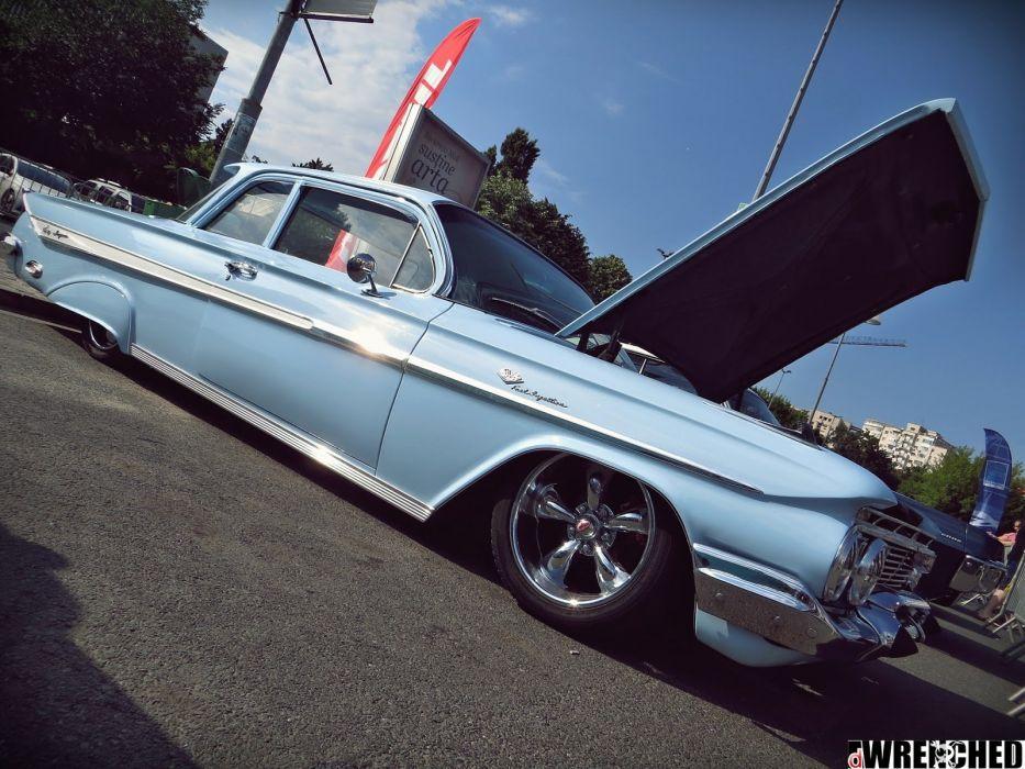 1961 Chevrolet Impala lowrider custom classic wallpaper