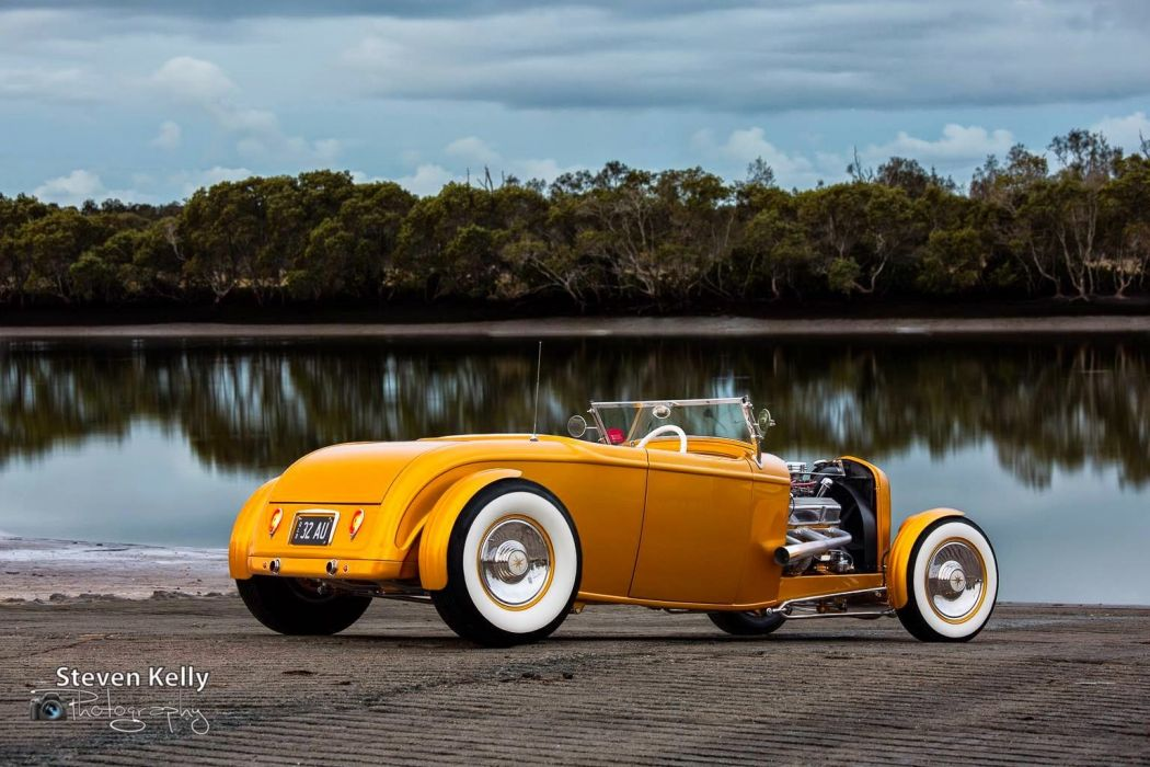 1932 Roadster custom hot rod rods vintage wallpaper