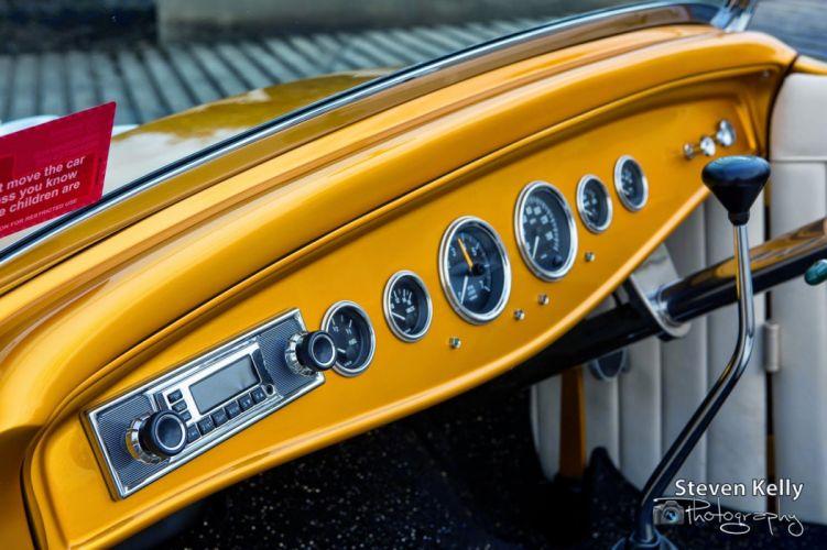 1932 Roadster custom hot rod rods vintage wallpaper