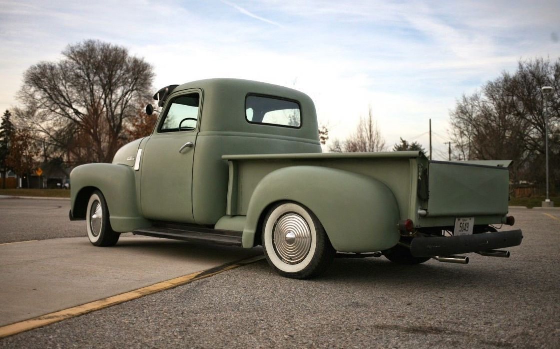 1948 Chevrolet pickup retro custom truck wallpaper