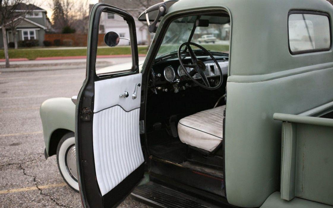 1948 Chevrolet pickup retro custom truck wallpaper