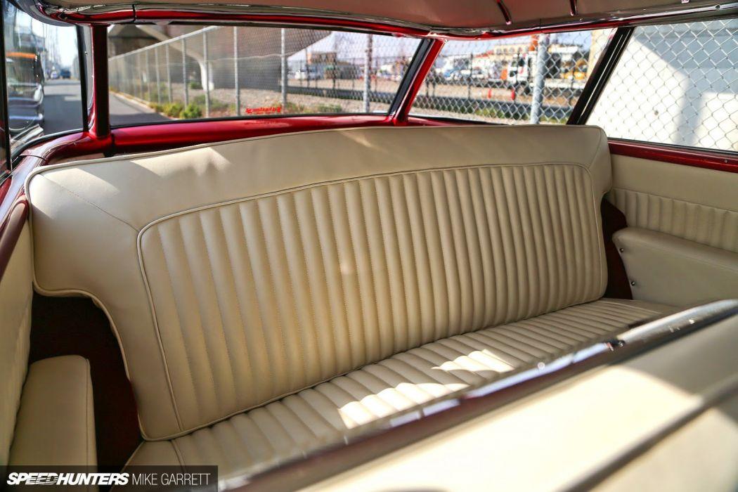 19 57 Chevrolet Nomad stationwagon custom lowrider retro wallpaper