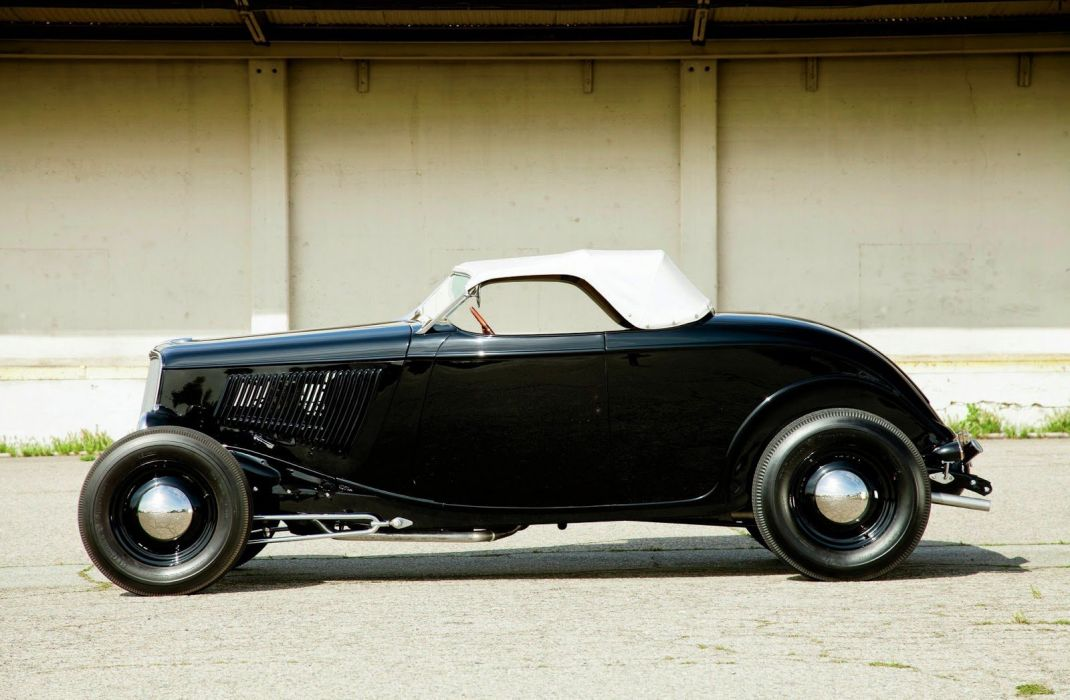 1933 Ford Roadster custom hot rod rods vintage wallpaper