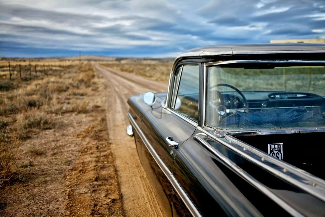 1959 Chevrolet El Camino pickup retro custom lowrider hot rod rods Camino el-camino wallpaper