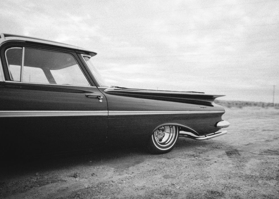 1959 Chevrolet El Camino pickup retro custom lowrider hot rod rods Camino el-camino wallpaper