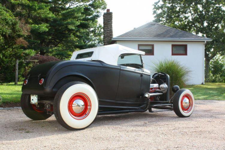 1932 Ford Roadster custom hot rods rod vintage wallpaper