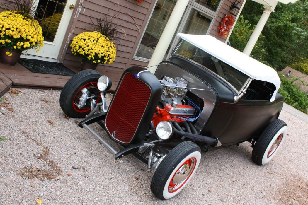 1932 Ford Roadster custom hot rods rod vintage wallpaper