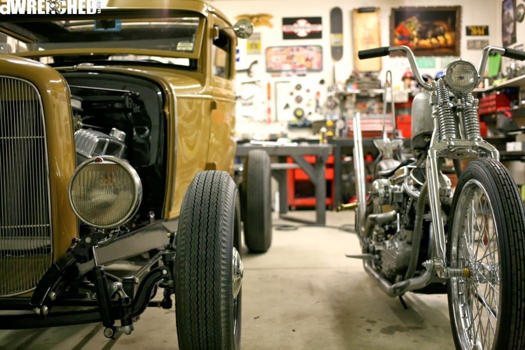 Ford Model-A custom hot rod rods vintage wallpaper