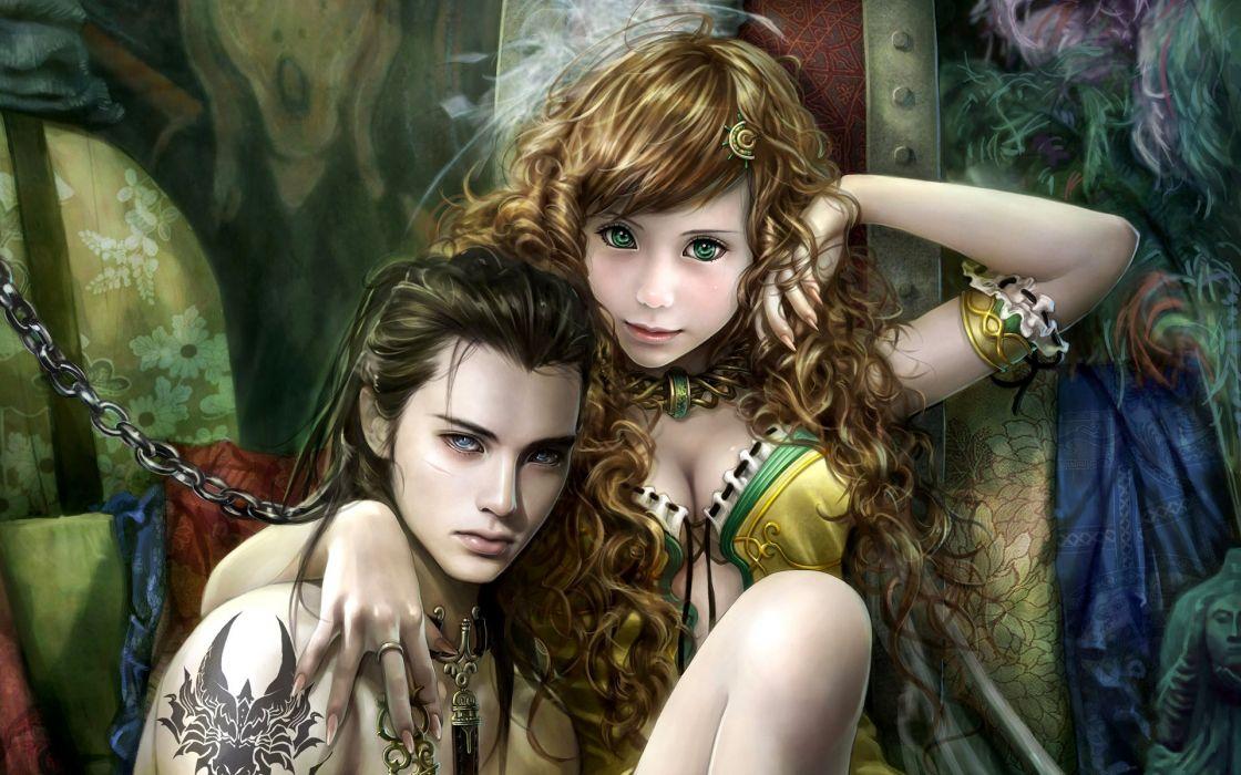 chicas fantasias cadenas wallpaper