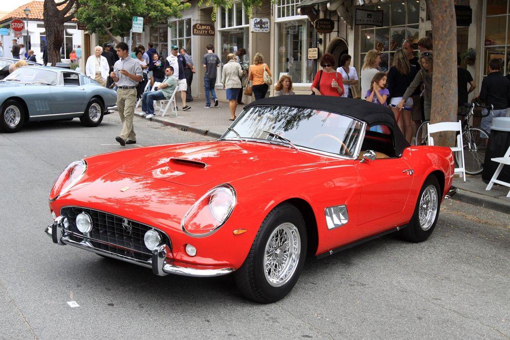 1960 Ferrari 250 California SWB Spyder cars classic racecars wallpaper