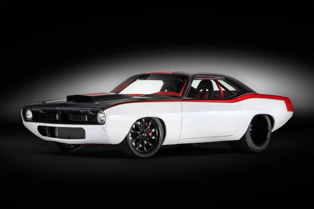 1970 Plymouth Barracuda mopar muscle custom hot rod rods cuda classic wallpaper