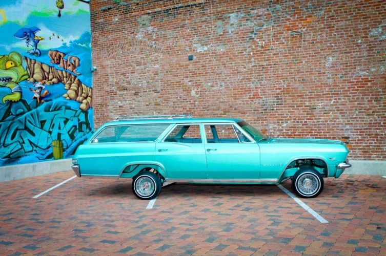 LOWRIDER custom tuning stationwagon wallpaper