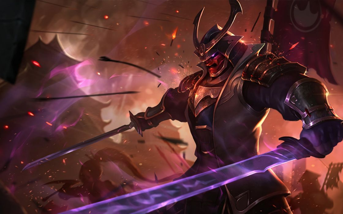 League Legends fantasy art artwork poster warrior wallpaper
