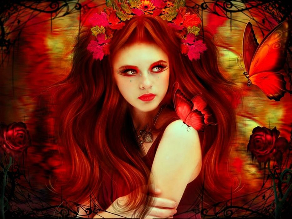 fantasy art artwork women woman female girl girls wallpaper