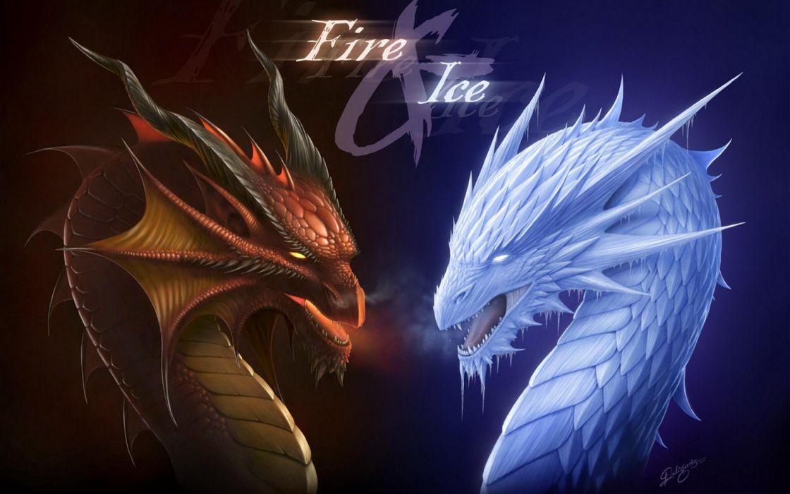 fantasy art artwork dragon monster creature poster wallpaper
