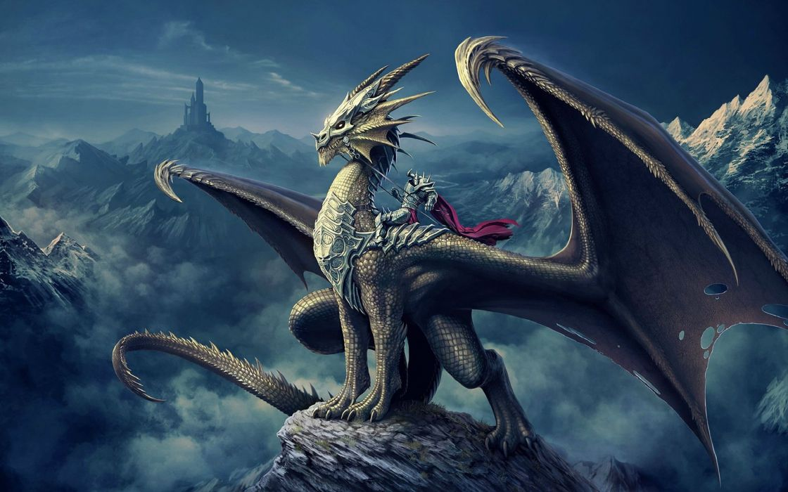 fantasy art artwork dragon monster creature wallpaper