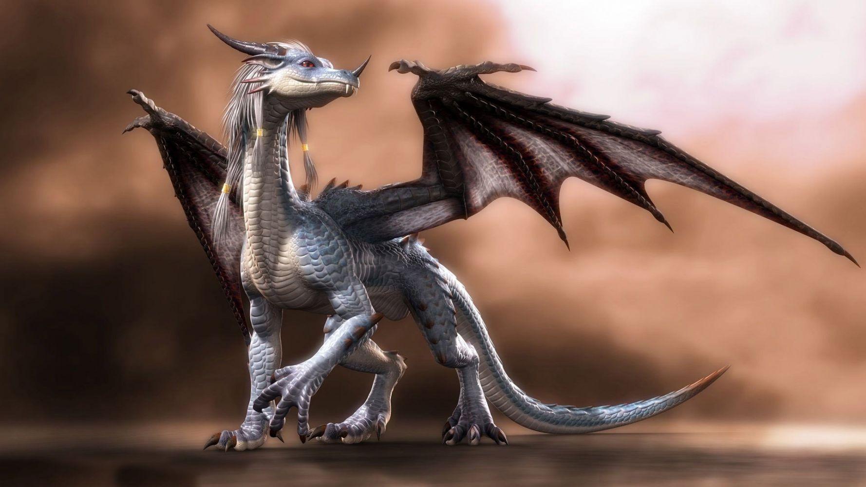 Смотреть фото на рабочий стол мистические драконы