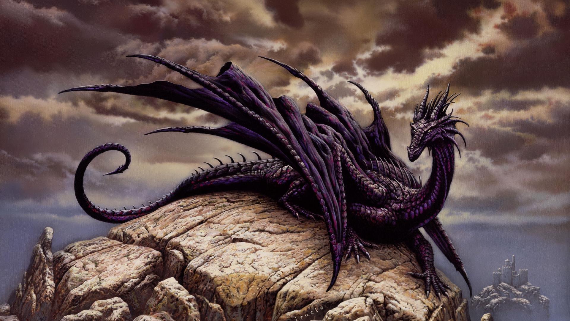 fantasy art artwork dragon monster creature wallpaper 1920x1080