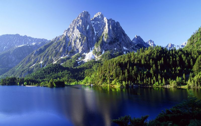 paisaje pirineos espaA wallpaper