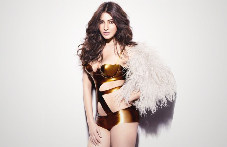 anushka sharma bollywood actress model girl beautiful brunette pretty cute beauty sexy hot pose face eyes hair lips smile figure indian wallpaper