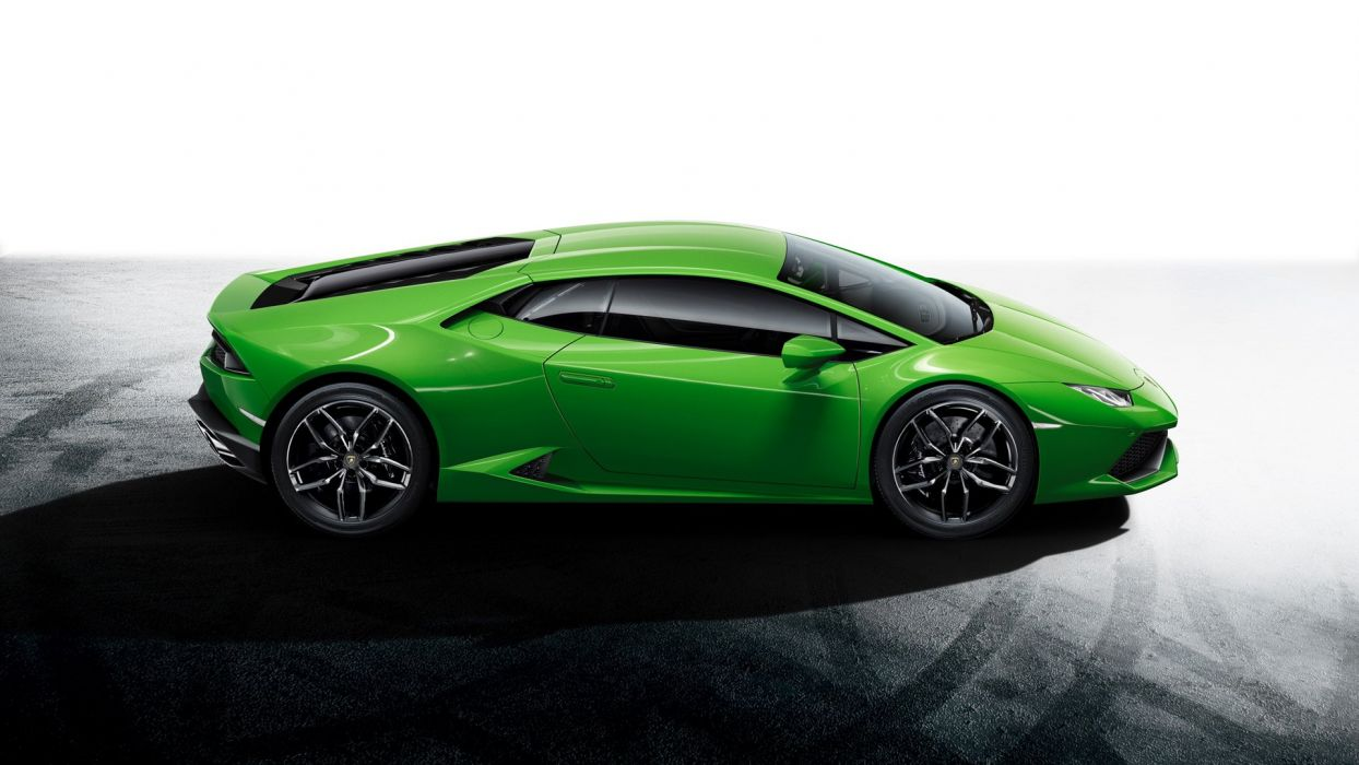 coche lamborghini verde italiano wallpaper