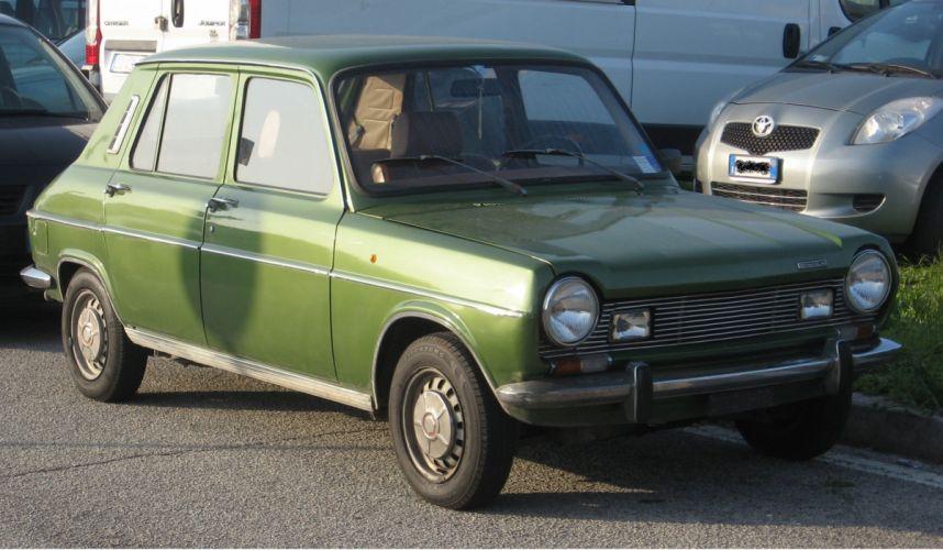 coche simca 1100 verde wallpaper