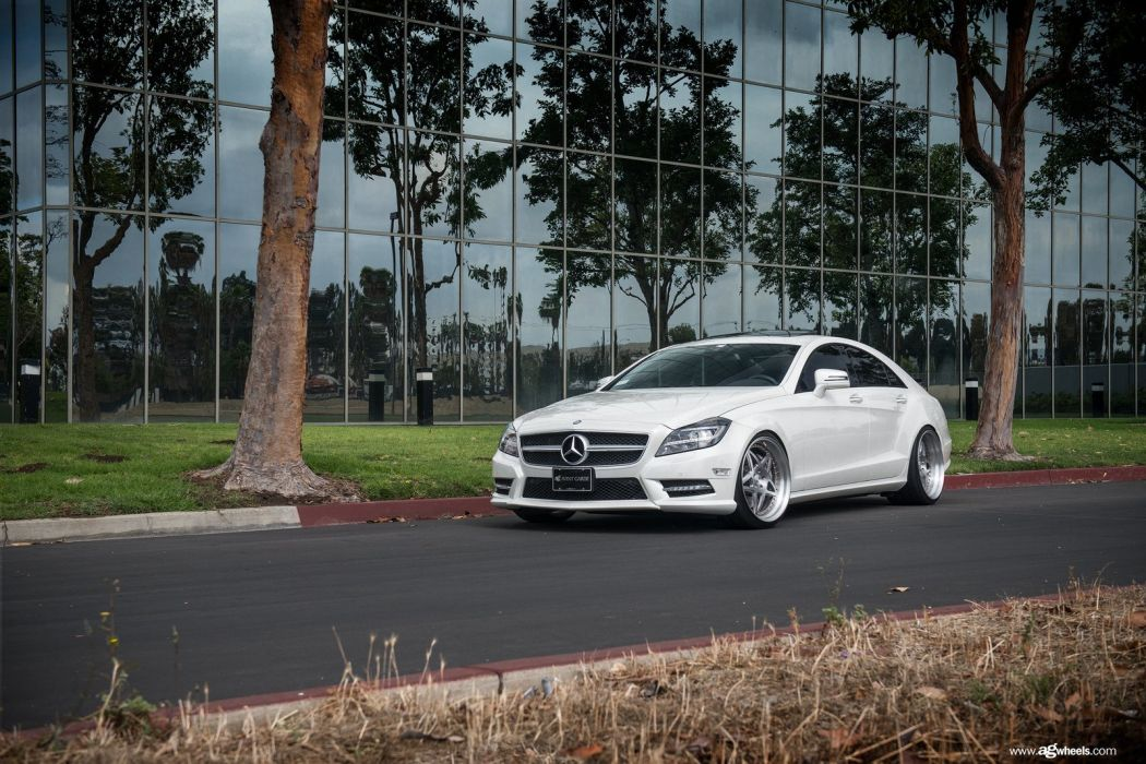 mercedes cls 550 white cars modified wallpaper