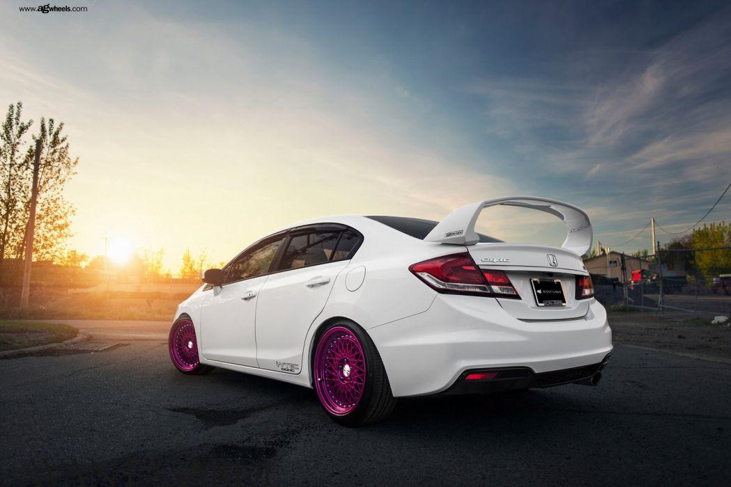 Honda Civic Si White Cars Modified Wallpaper 1600x1068 882812 Wallpaperup