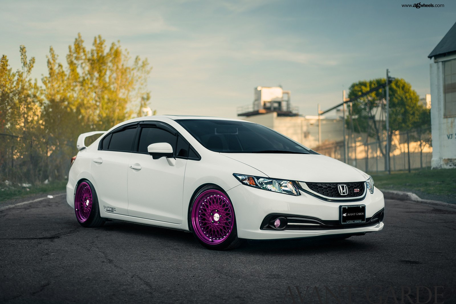 honda civic si white cars modified wallpaper 1600x1068. Black Bedroom Furniture Sets. Home Design Ideas