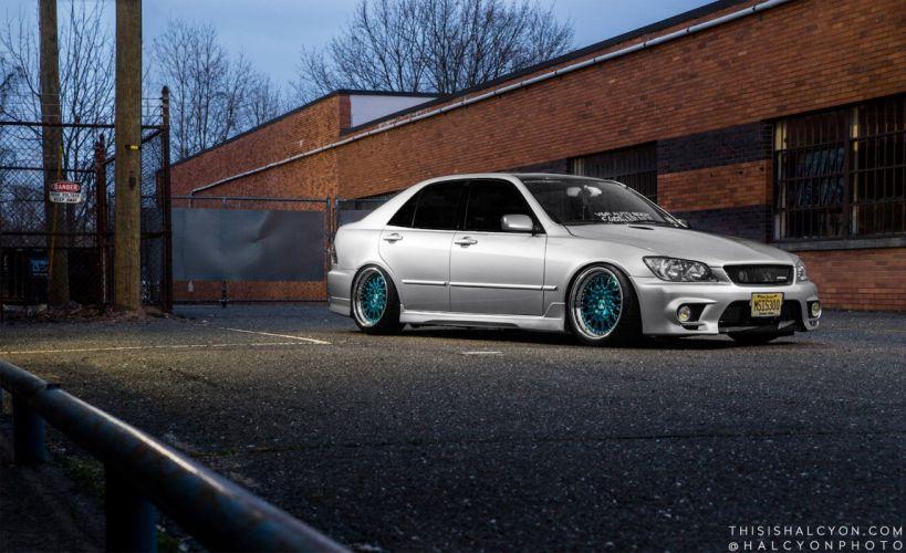 lexus is300 sedan cars modified wallpaper