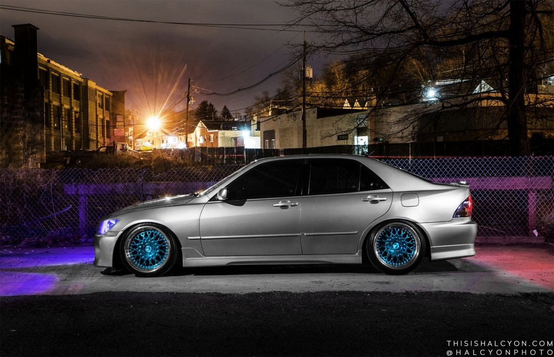 lexus is300 sedan cars modified wallpaper