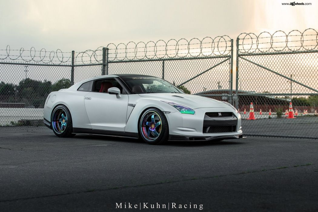 nissan gtr godzilla white cars modified wallpaper