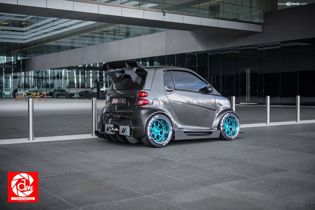 smart fortwo cars modified wallpaper