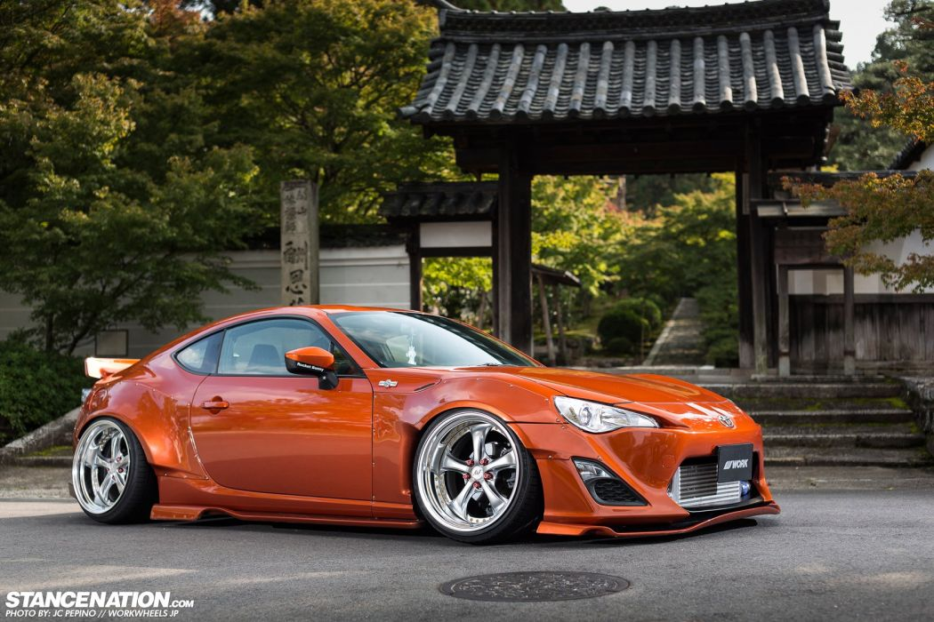 Toyota gt86 cars coupe modified wallpaper