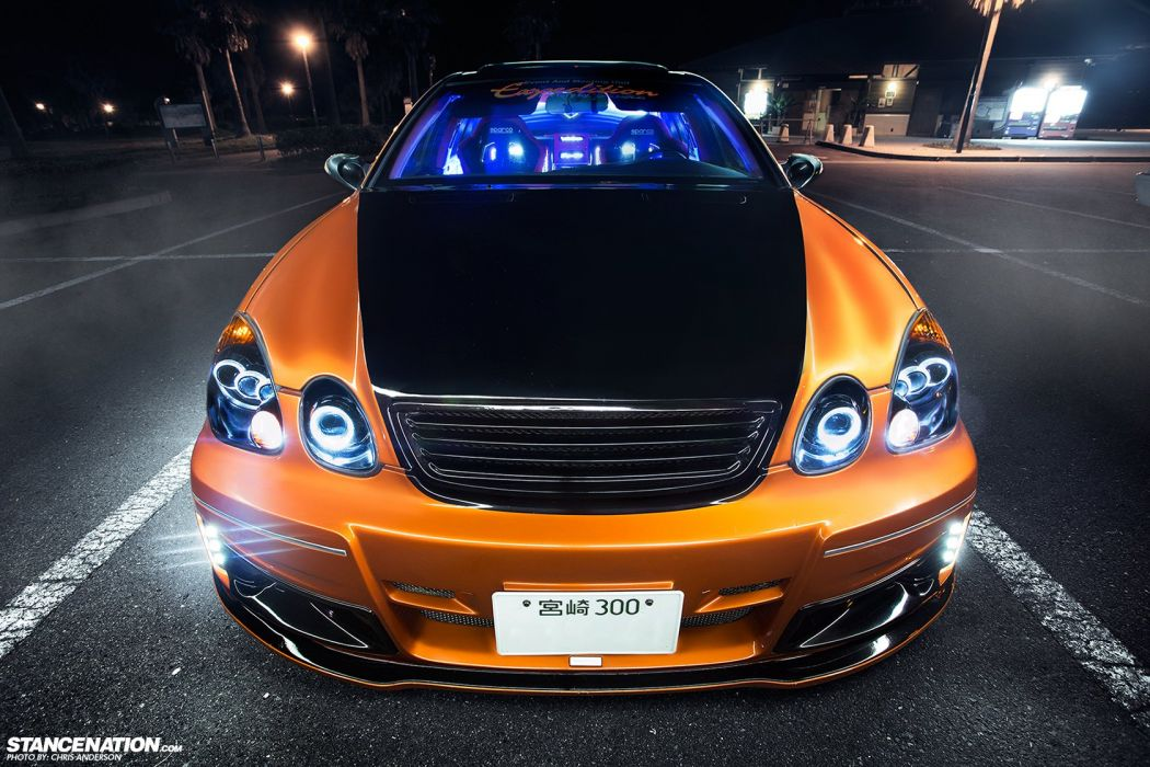 LEXUS GS300 body kit cars modified  wallpaper