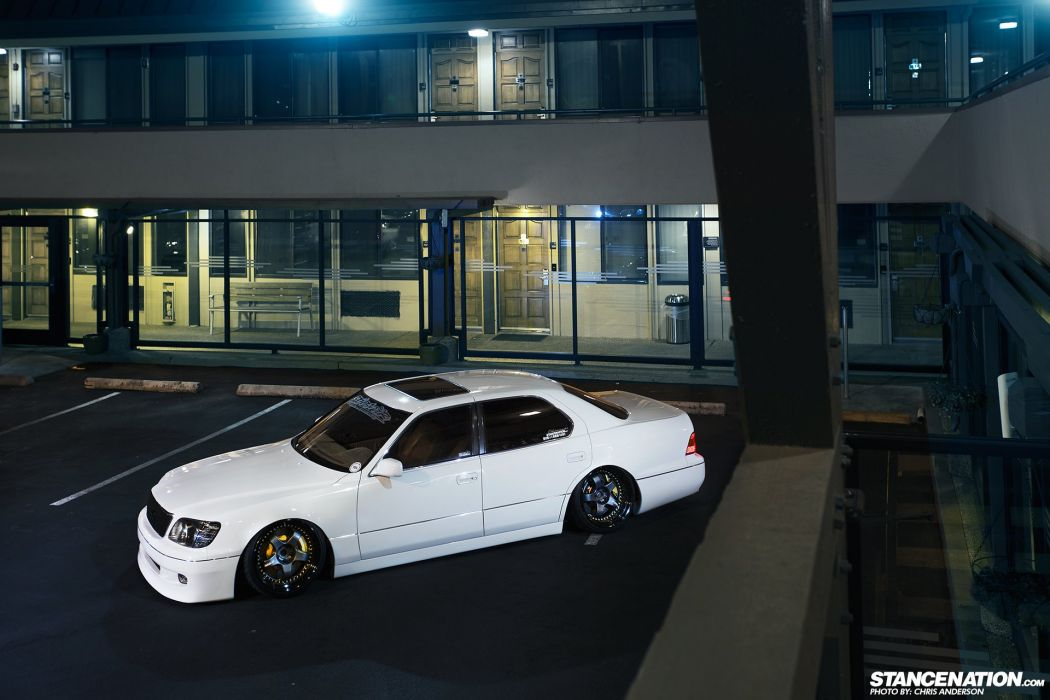 LEXUS LS400 body kit cars modified  wallpaper