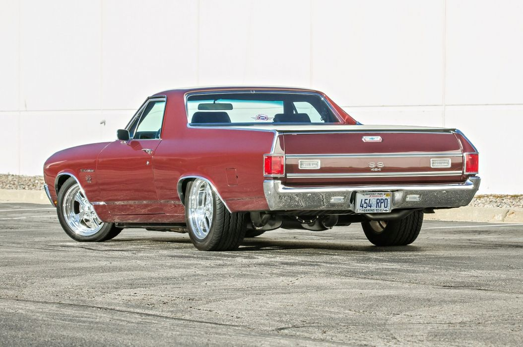 1970 454 SS Chevrolet El Camino muscle classic hot rod rods custom s-s pickup wallpaper