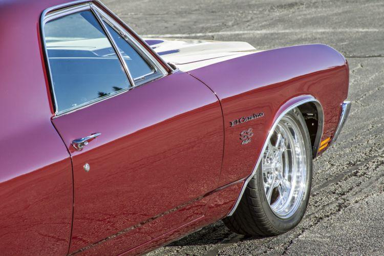 1970 454 SS Chevrolet El Camino muscle classic hot rod rods custom s-s pickup wallpaper