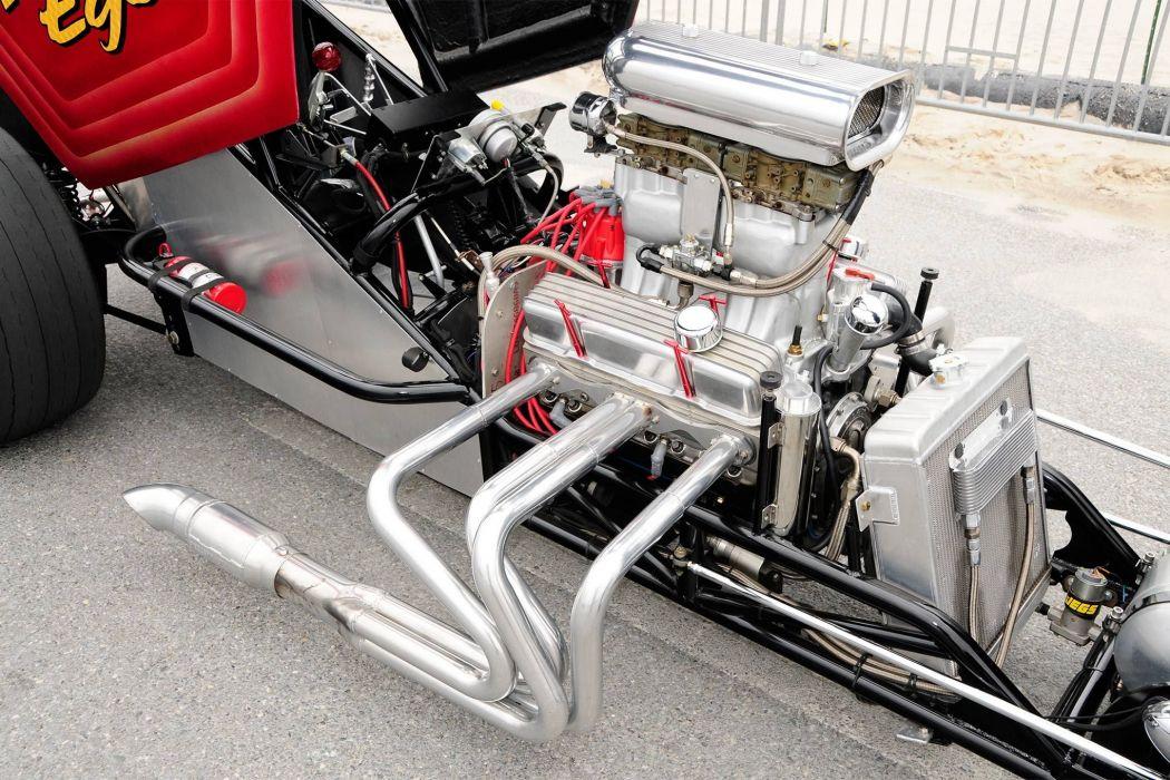 1937 Fiat Topolino drag race racing hot rod rods custom vintage wallpaper