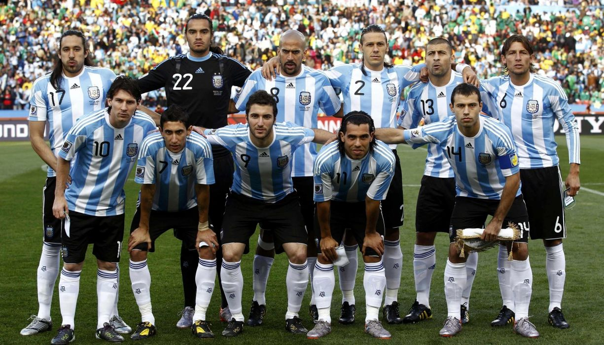 seleccion futbol argentina sudamerica wallpaper