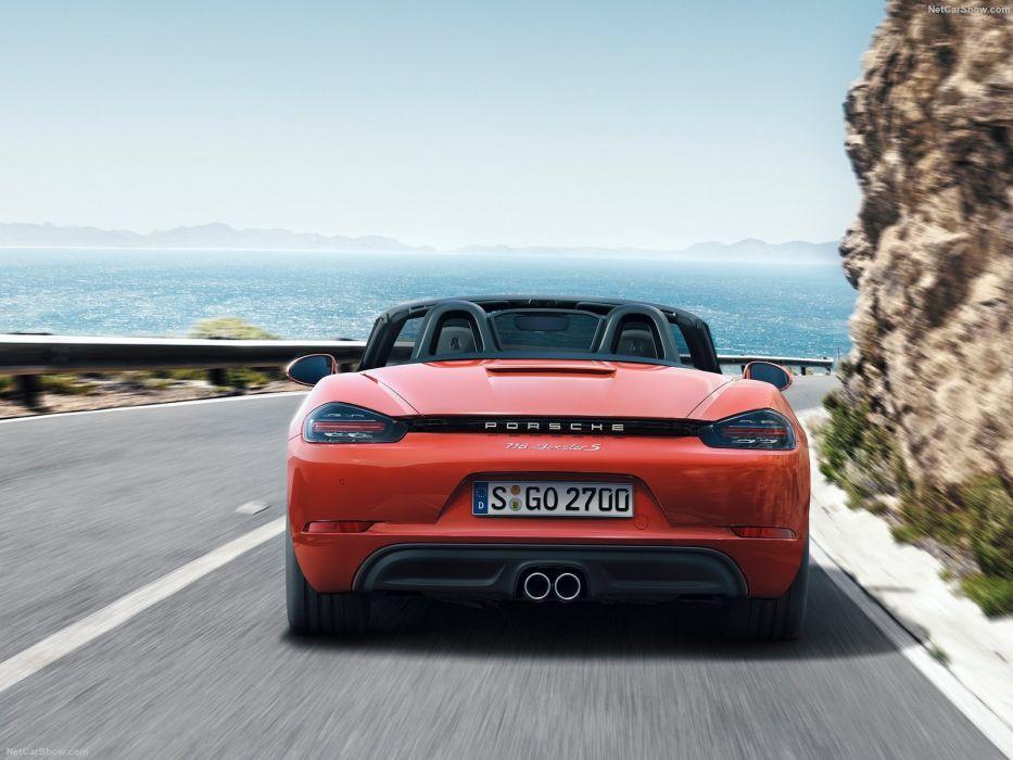 2015 cars Porsche 718 Boxster wallpaper