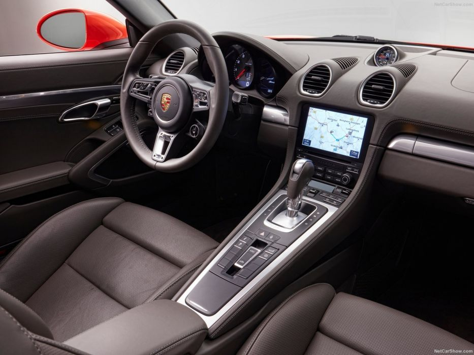 2015 cars Porsche 718 Boxster wallpaper