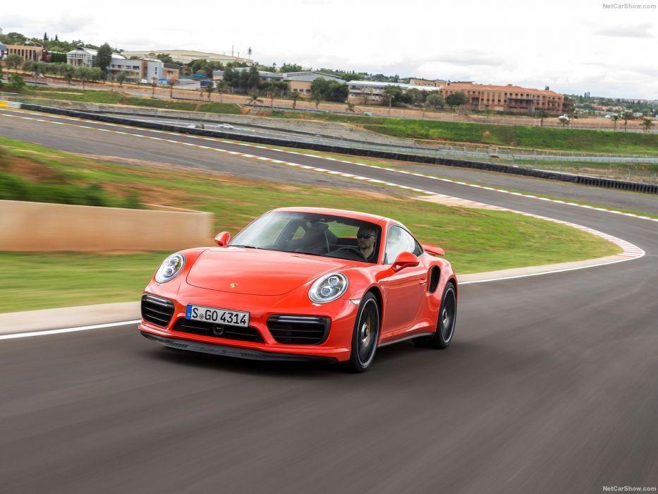 Porsche 911 Turbo S cars 2016 wallpaper