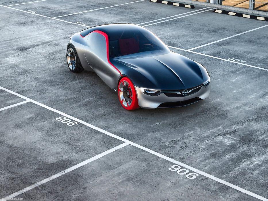 Opel GT Concept cars 2016 wallpaper