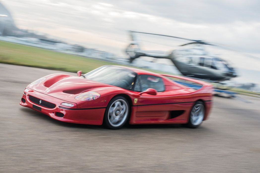 F50 Ferrari cars supercars red 1995 wallpaper