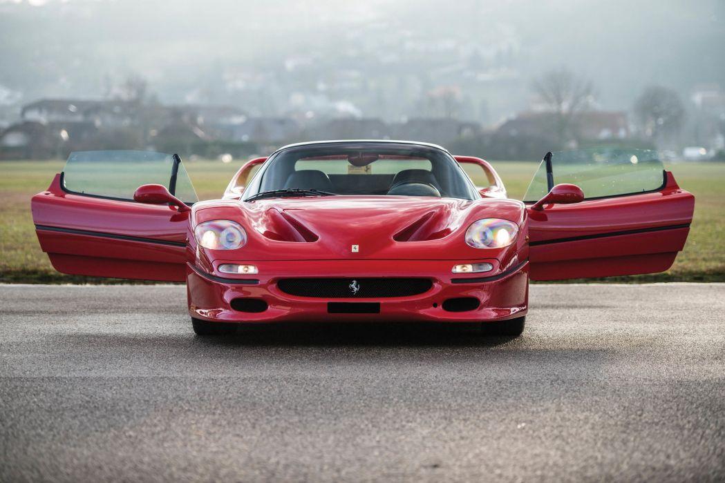 F50 Ferrari cars supercars red 1995 wallpaper