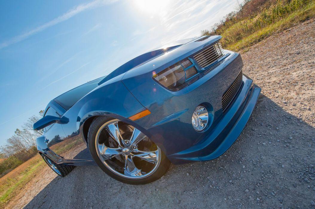 2010 Chevrolet Camaro muscle custom hot rod rods wallpaper