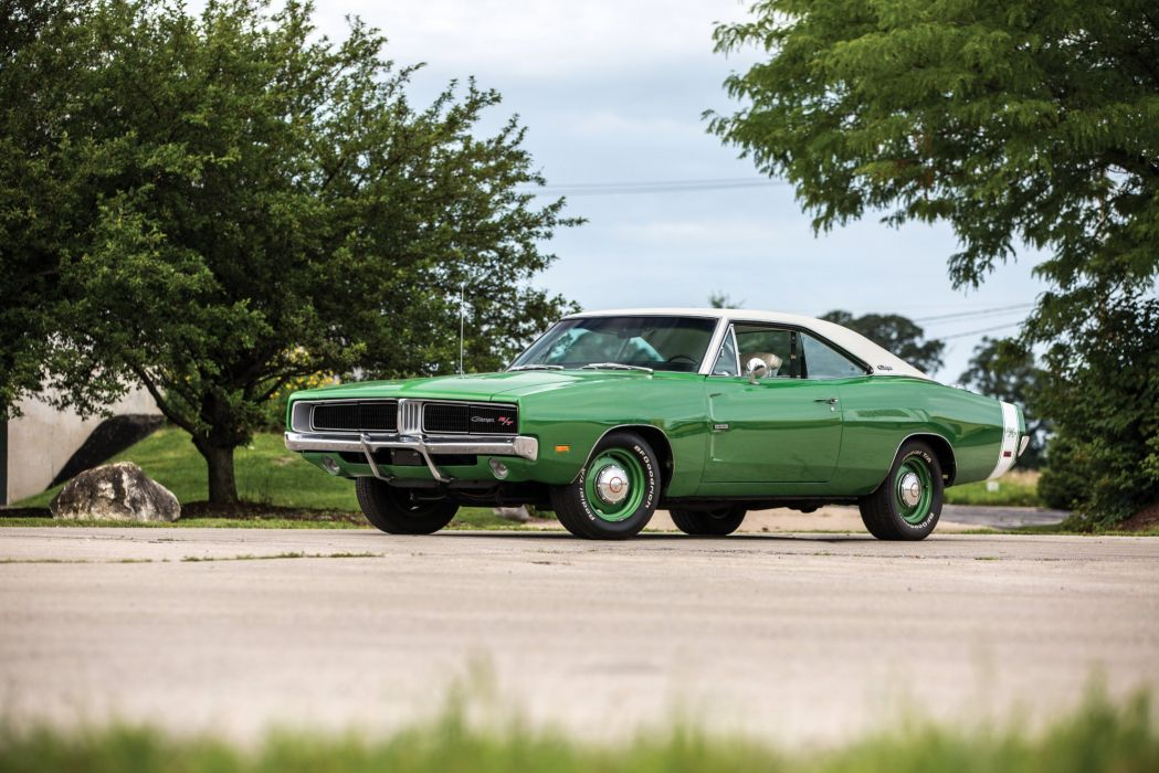 T 426 Hemi cars coupe classic green wallpaper