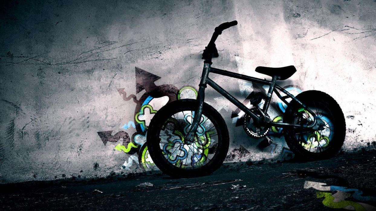 bmx bicicleta acrobatica wallpaper