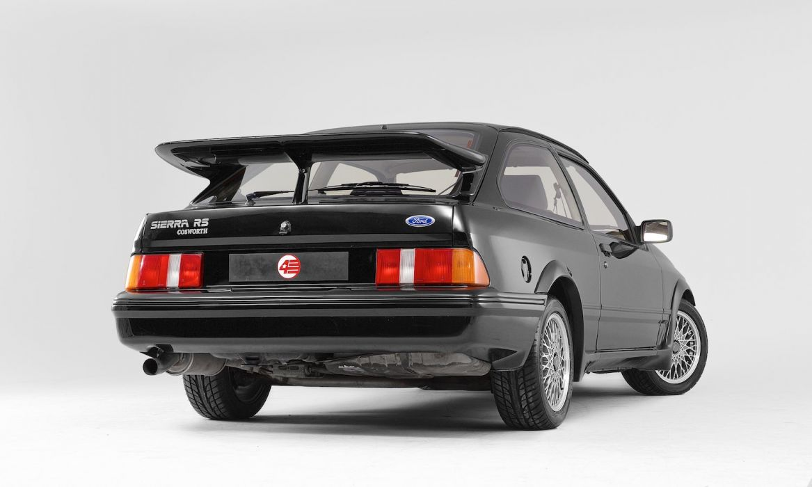 Ford Sierra RS Cosworth cars black wallpaper